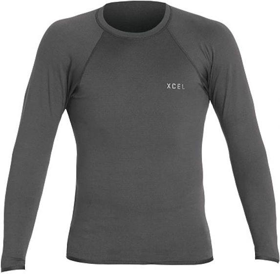 Xcel Insulate-X Long Sleeve Rash Vest - Graphite