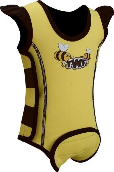 TWF Baby Wrap Wetsuit - Bee Yellow