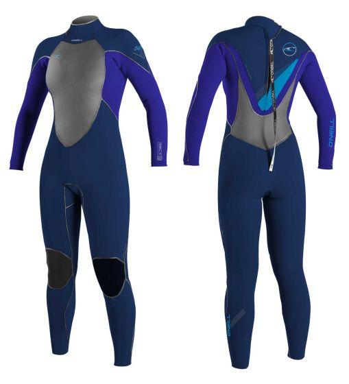 O'Neill Ladies Psychofreak 5/4 Zen Zip Winter Wetsuit 2016