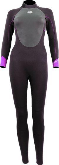 Alder Ladies Stealth 5/4/3mm Winter Wetsuit