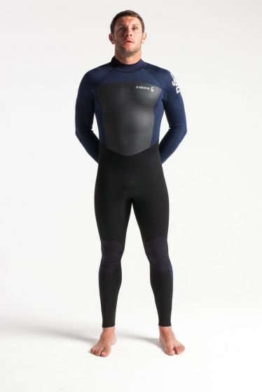 C-Skin Legend 5/3mm Back Zip Wetsuit 2021 - Ink / Black