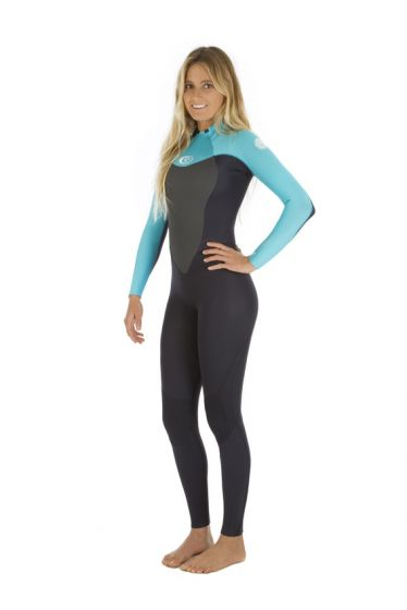 Rip Curl Omega Womens 5/3 Winter Wetsuit 2017 - Turquoise