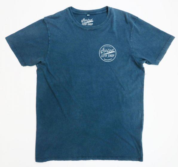 Sorted Surf Shop Circle T Shirt - Blue