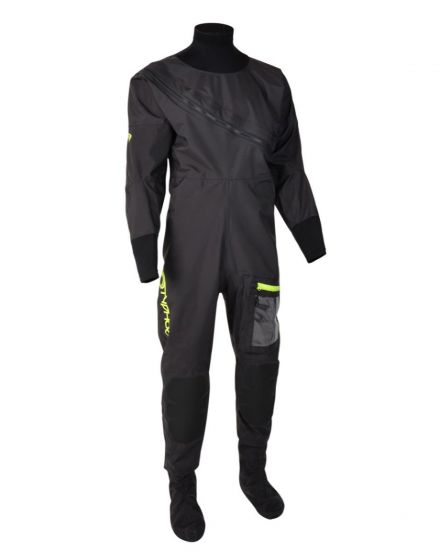 Typhoon Ezeedon 4 Mens Drysuit - Black