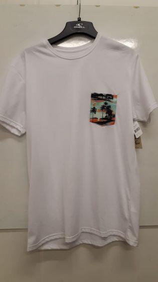 Billabong Team Pocket Surf T-Shirt - White