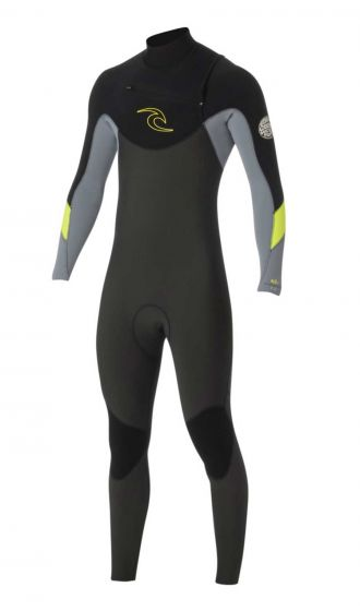 Rip Curl Dawn Patrol 3/2mm Mens Summer Wetsuit 2016 - Charcoal