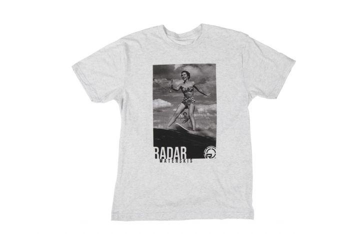 Radar Nostalgia Mens T-Shirt 2021 - Heather White