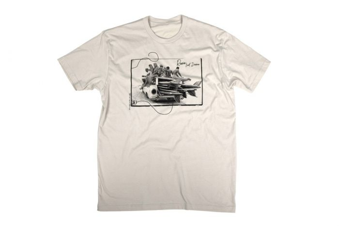 Ronix Wake Surf Babe Mens T-Shirt 2021