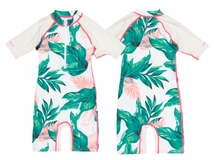 Billabong Toddlers Lycra Sun Suit 2016 - Tropical