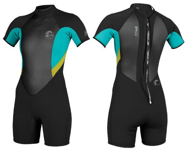 O'Neill Bahia Ladies 2/1mm Shortie Wetsuit - 2015