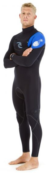 Rip Curl E Bomb Mens 4/3mm Chest Zip Spring Wetsuit 2017