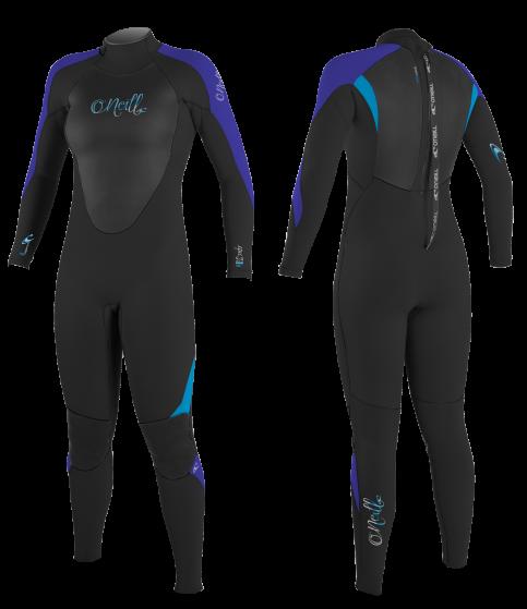 O'Neill Epic Ladies 5/4 Ladies Winter Wetsuit 2016 - Cobalt