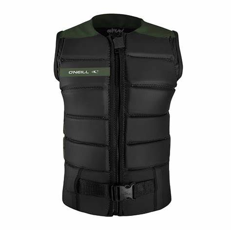 O'Neill Outlaw Comp Impact Vest 2020 - Dark Olive