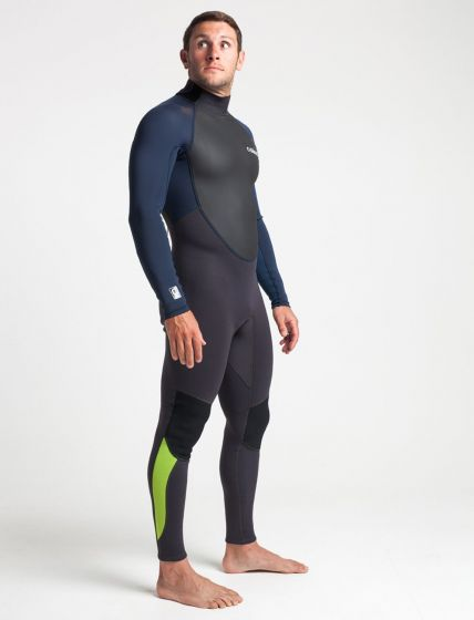 C skins mens element 3mm summer wetsuit right front preview