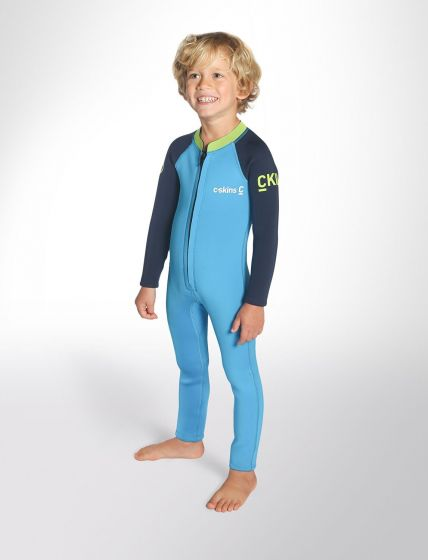 C-Skins Baby Steamer Toddlers Wetsuit 2020 - Cyan
