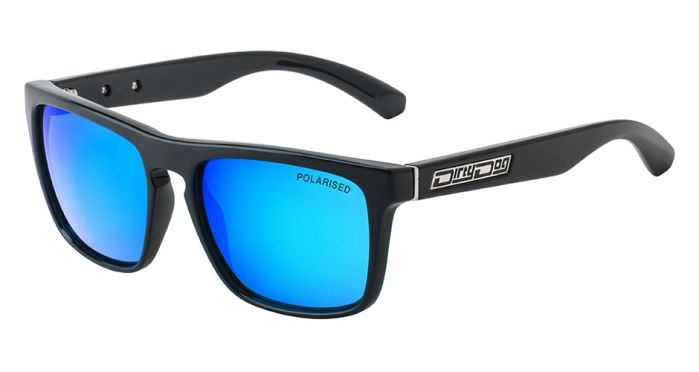 Dirty Dog Monza Sunglasses - Black / Blue