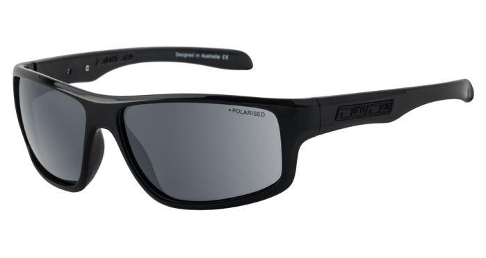 Dirty Dog Quantum Polarised Sunglasses - Black/Grey