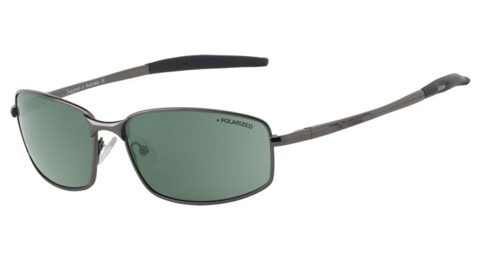 Dirty Dog Tiger Polarised Sunglasses - Gunmetal/Black