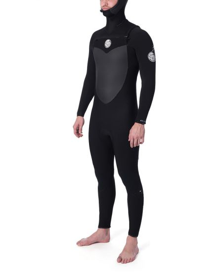 Rip Curl Flash Bomb 6/4mm Hooded Wetsuit
