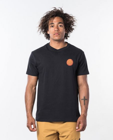 Rip Curl Passage Tee in Black