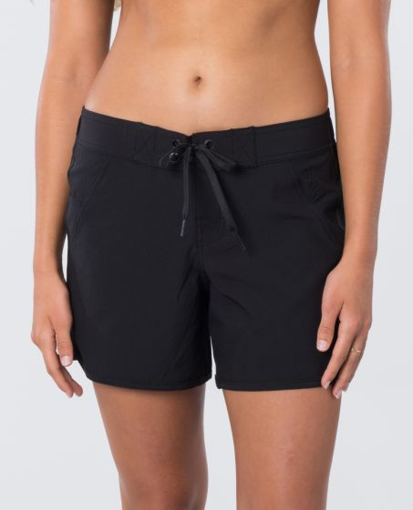 """Rip Curl Womens Classic Surf 5"""" Boardshorts in Black"""