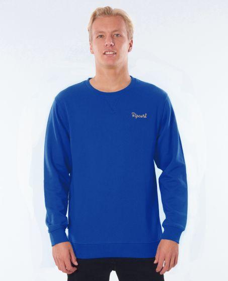 Rip Curl Surf Crew Mens Sweater - Royal Blue