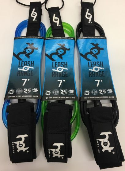 Hot Surf 69 7ft Surfboard Leashes