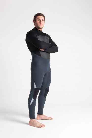 C Skins Legend 5/3mm Back Zip Mens Wetsuit 2021 - Graph / Black