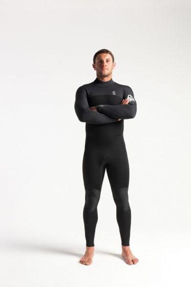 C Skins Session 3/2 back zip wetsuit