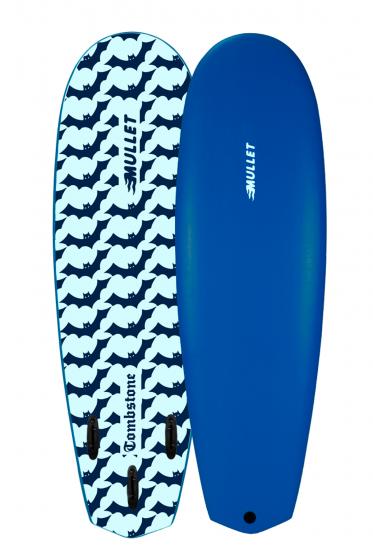 """Mullet 5'10"""" Tombstone Foam Shortboard"""