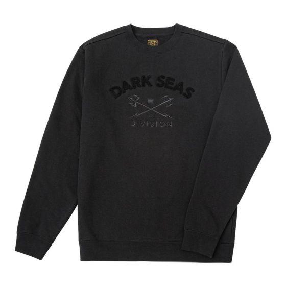 Dark Seas Mason Crewneck Sweatshirt - Black