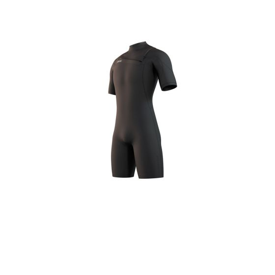 Mystic Mens Marshall Shorty 3/2mm Wetsuit 2021 - Black - Front