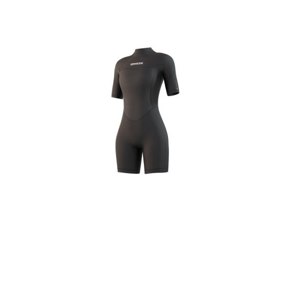 Mystic Brand 3/2mm Shorty Womens Wetsuit 2021 - Black