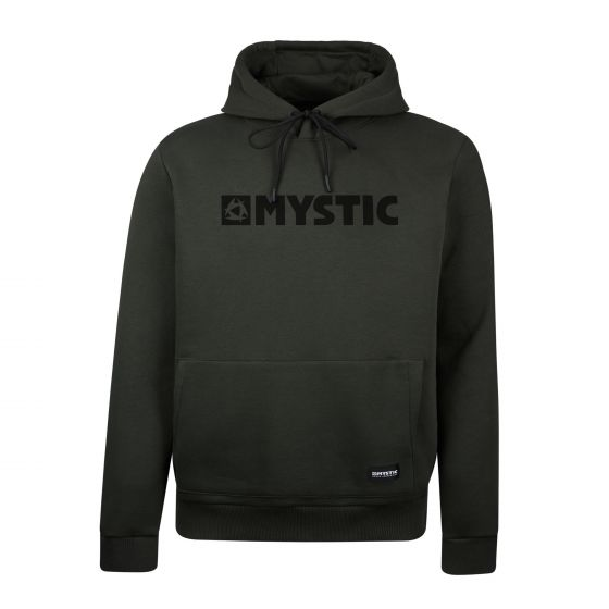Mystic Brand Hood Mens Sweater - Brave Green front