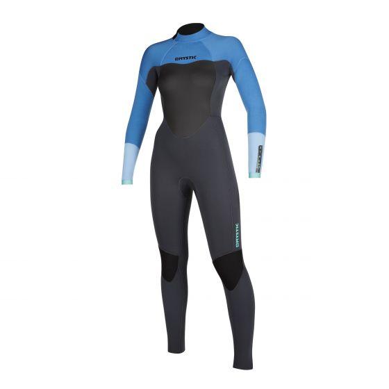 Mystic Star 5/3mm back zip Wetsuit women's