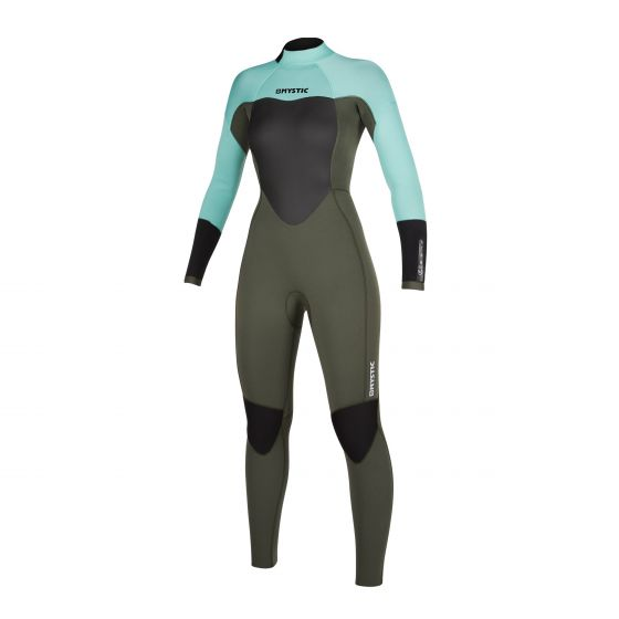 Mystic Star 5/3mm Ladies Back Zip Winter Wetsuit 2021 - Mint Green