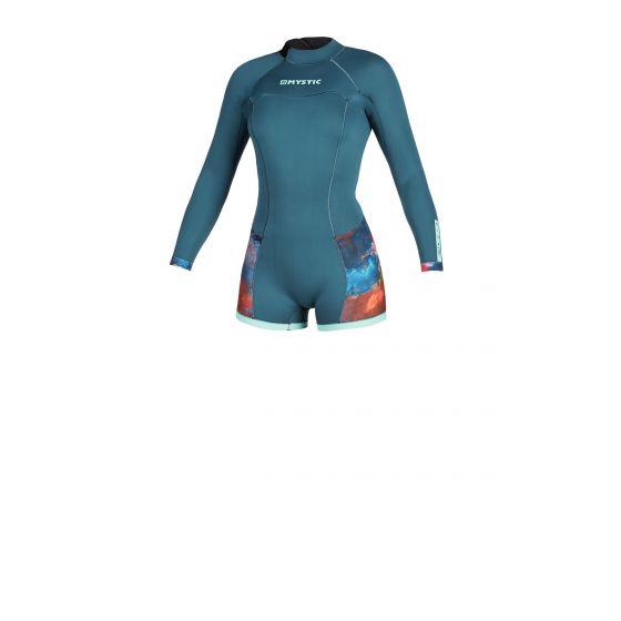 Mystic Diva 2mm back zip shorty wetsuit