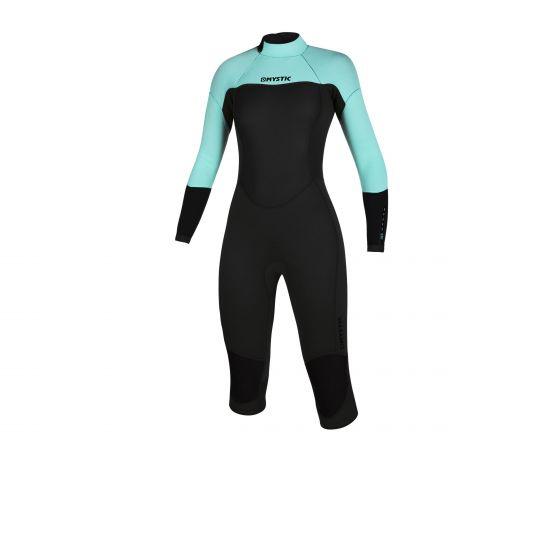 Mystic Brand Womens 3/2 Long Arm Short leg wetsuit