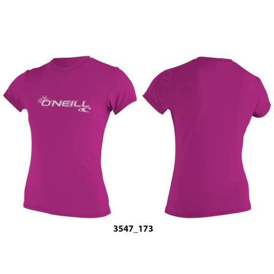 O'Neill Basic Skins Womens Sun Tee Shirt