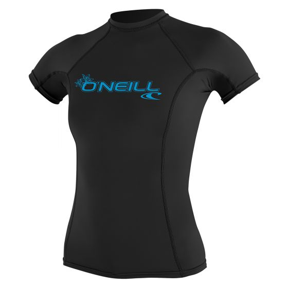 O'Neill Womens Basic Skins Rash Guard 2020 - Black