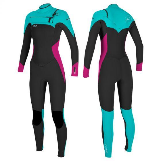 O'Neill Superfreak Fuze 3/2 Ladies Summer Wetsuit 2017