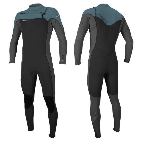 O'Neill Hammer 3/2mm Mens Chest Zip Summer Wetsuit 2017 - Dusty Blue