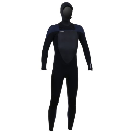 O'Neill Mutant 5/4/3mm Youth Hooded C/Zip Wetsuit 2019 - Black/ Slate