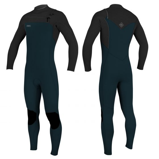 O'Neill Hyperfreak 5/4mm Chest Zip Wetsuit TB3 2018 - SLATE