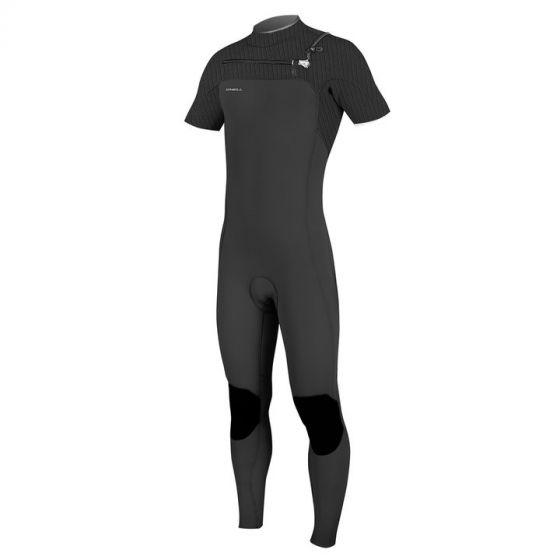 O'Neill Hyperfreak 2mm Short Sleeve Chest Zip Wetsuit 2019