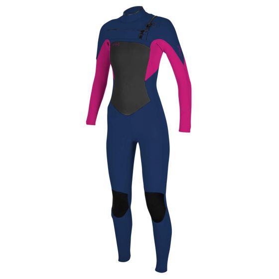 O'Neill Epic 4/3 girls chest zip wetsuit