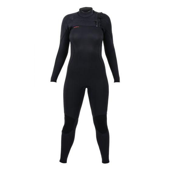 O'Neill Hyperfreak 4/3+mm Chest Zip Womens Wetsuit - Front