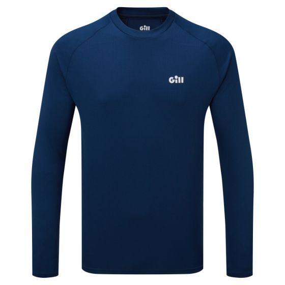 Gill Millbrook Crew Mens Long Sleeve 2021 - Dark Blue