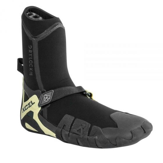 Xcel Drylock 7mm Round toe wetsuit boots 2019