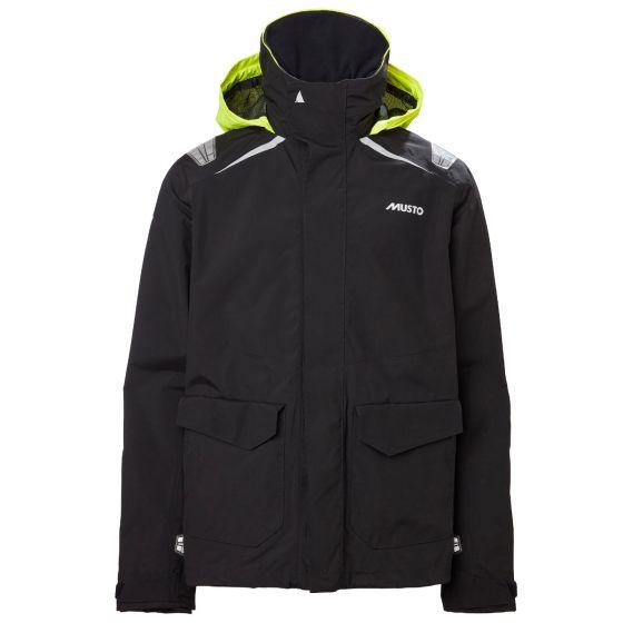 Musto BR1 Inshore Mens Jacket 2021 - Black